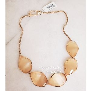 Authentic Kendra Scott Peach Cat's Eye Connely